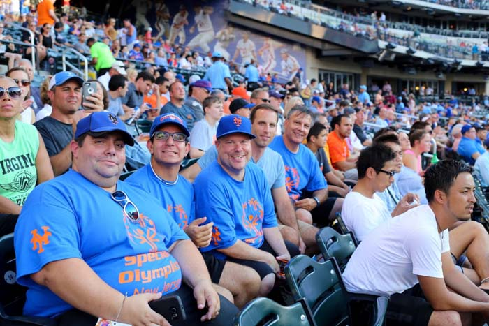 T.Cares Partner: Special Olympics NJ Players At Citi Field