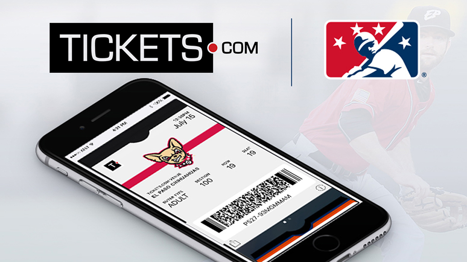 Tickets.com Chosen As Official MiLB Provider