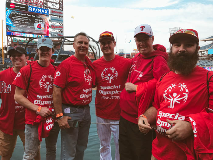 T.Cares Teams Up With The Phillies To Host Memorable Day For Special Olympics Athletes