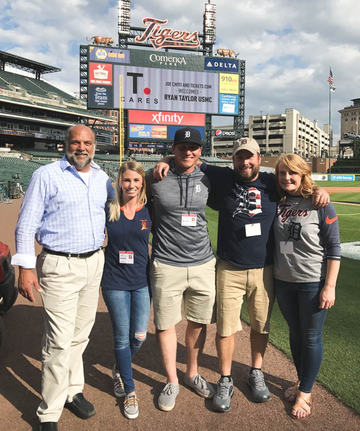 T.Cares And Vet Tix Partner To Deliver Unforgettable Experience For USMC Veteran