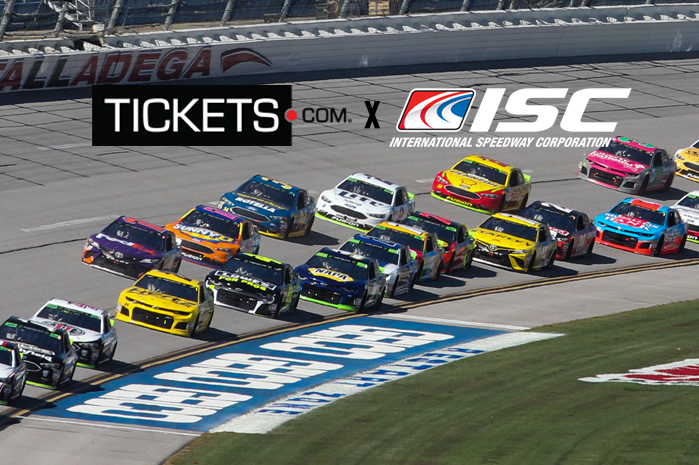 International Speedway Corporation Announces Tickets.com As Official Ticketing Provider