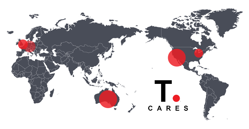 T.Cares Grows Internationally In 2019