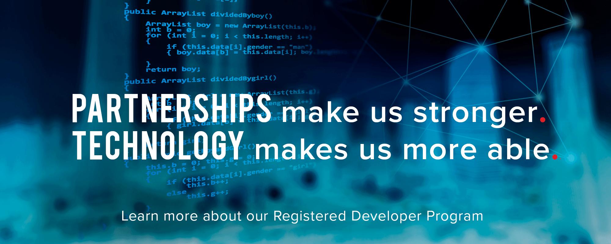 Registered Developer Solutions