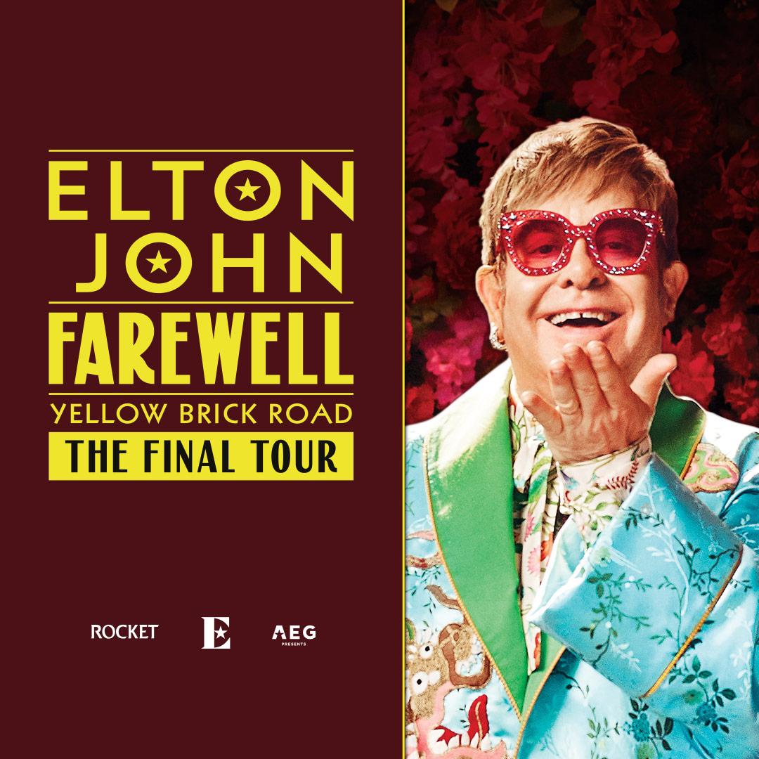 Elton John Yellow Brick Road Farewell Tour