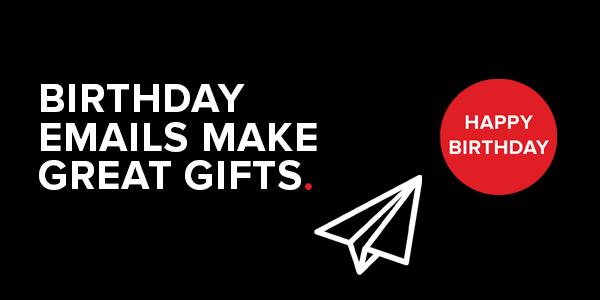 Email Marketing: Happy Birthday