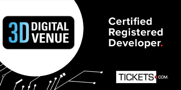3D Digital Venue™, A Certified Registered Developer