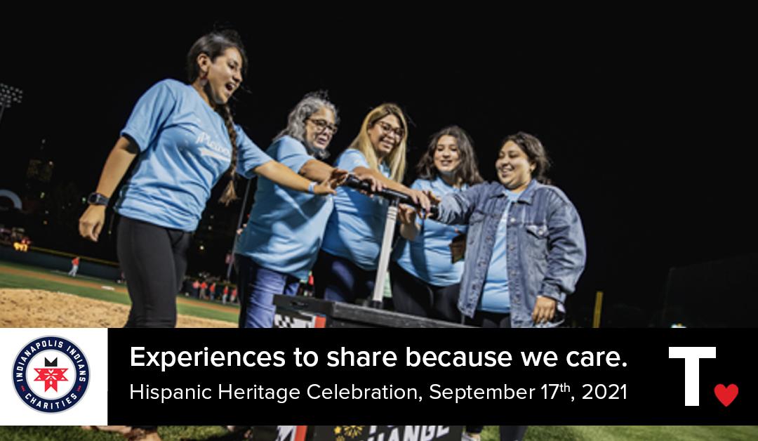 T.Cares Indianapolis Indians Charities Hispanic Heritage Celebration 2021